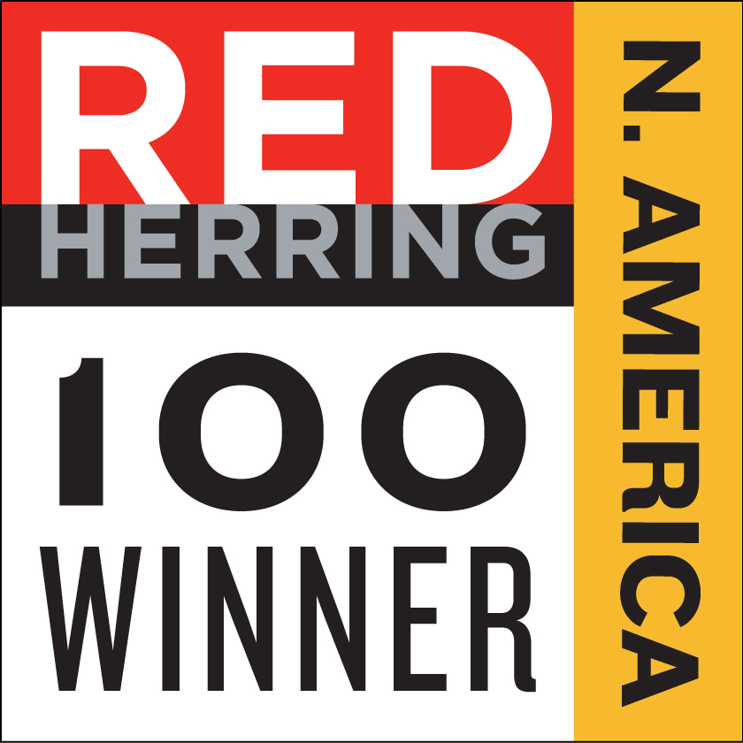 Red Herring 100 Winner logo