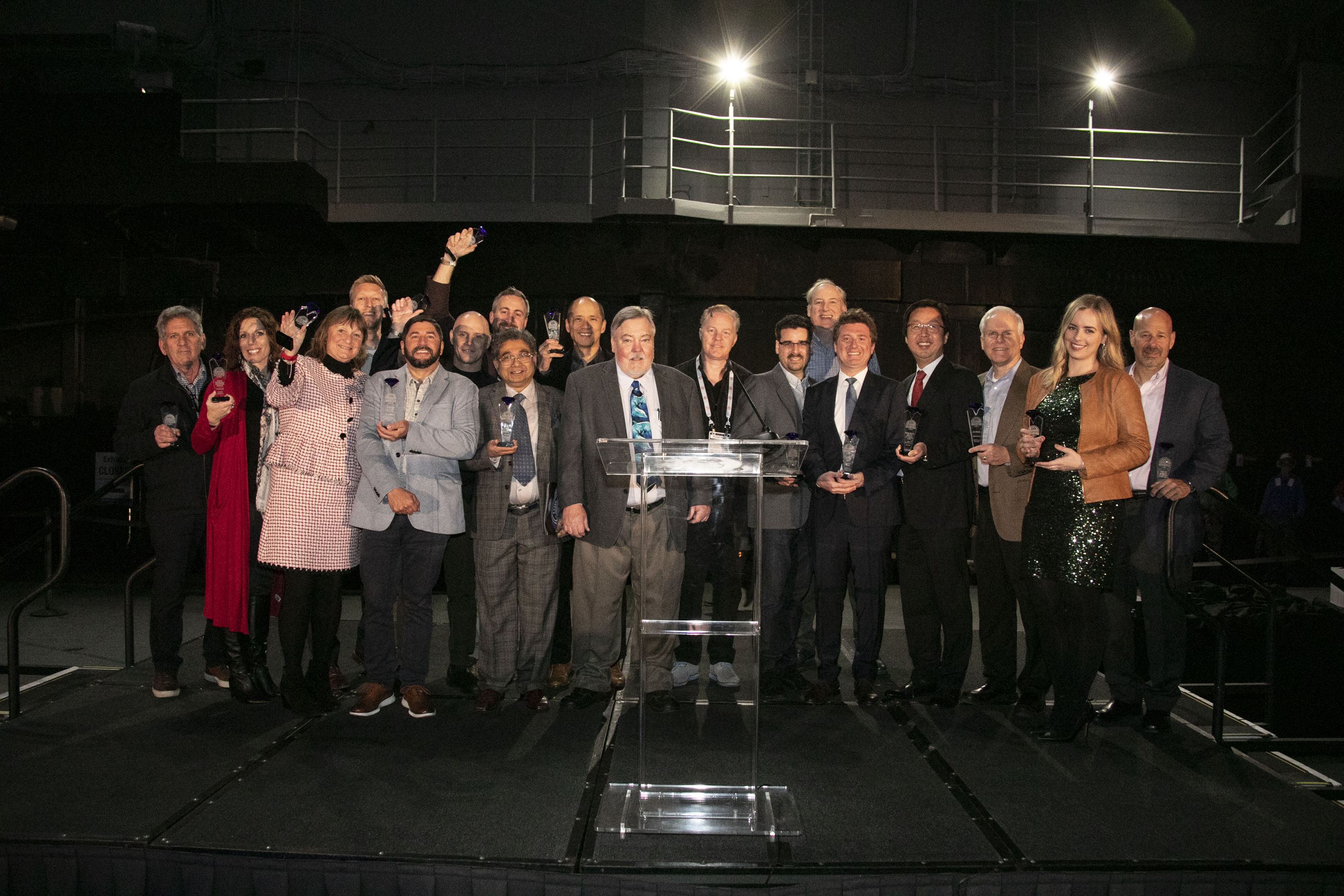 Group picture of 2020 Sapphire Award winners