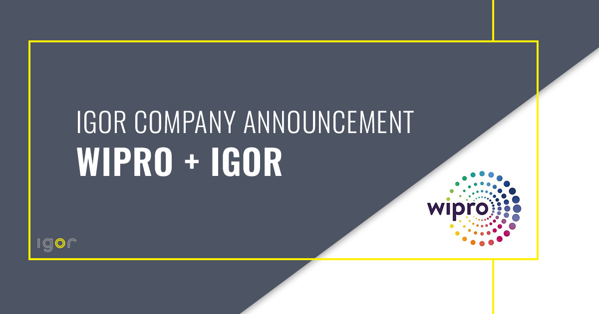 Igor and Wipro Partnership