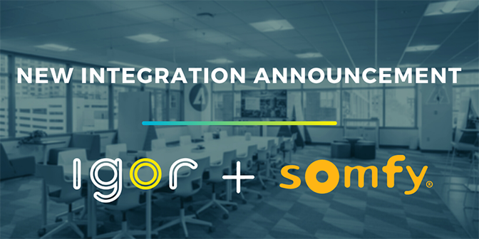 Igor and Somfy Partnership
