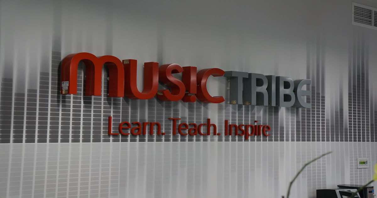 Music Tribe logo.